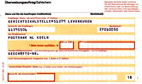 Überweisungsträger postbank : Grüne aktien